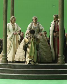 Henry Mills, Emma Swan and her parents, Snow White and Prince Charming, in the mid season finale of Once Upon a Time.