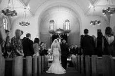 Bride, groom, church #weddings