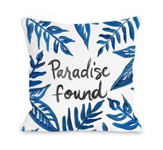Paradise Found Pillow