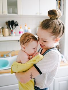 The Baby Bath Ritual Household Mag's founder reflects on the emotions of her baby's bath.
