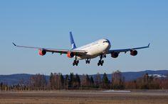 Scandinavian Airlines (SAS) Airbus A340-313X