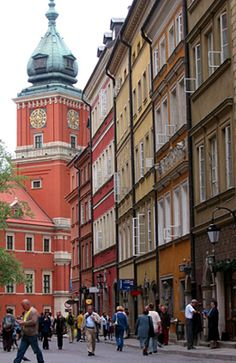 Warsaw, Poland... near where my family is from :)