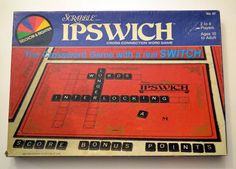 Scrabble Ipswich the Crossword Game with a real SWITCH