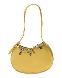 GIUSEPPE ZANOTTI Handbag. #giuseppezanotti #bags #hand bags #stone