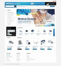 Medical Equipment PrestaShop Theme New Screenshots BIG