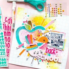 Back To School, Lisa, Layout, Autumn, My Love, Day, Blog, Inspiration, Biblical Inspiration