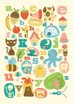 ABC Alphabet by Steph Says Hello