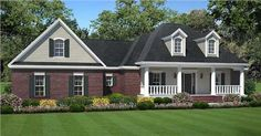 Ranch House Plans with Porches | Ranch Style Homes: The Ranch House Plan Makes a Big Comeback