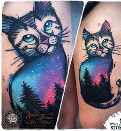Ce chat vient tout droit d'un autre monde…