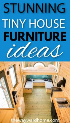 We have found the best tiny house furniture to fill your dream home with! From tiny house beds with storage and seating, to amazing tiny house tables. Tiny House Furniture, Modern Bedroom Furniture, Space Saving Furniture, Home Furniture, Compact Furniture, Furniture Ideas, Smart Furniture, Furniture Design, Best Tiny House