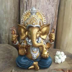 Spiritual Wallpaper, Ganesh Wallpaper, Lord Ganesha, Oil Painting Tips, Painting Art, Art Paintings, Elephant Home Decor, 3d Art Drawing, Buddha Decor