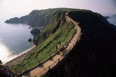 Isle of Sark, Channel Islands  (no cars, no mobile phones)