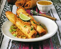 Vegan Tomatillo Taquitos Recipe