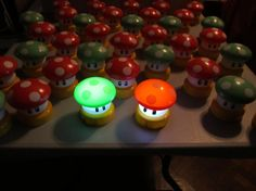Super Mario Brothers 1UP Mushroom SMALL Touch by emmadreamstar, $20.00