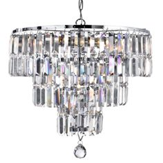 Empire is a spectacular, glittering 5 light chandelier with stunning rectangular crystal prisms hanging from a modern, chrome finish frame. Create a scintillating, jewellery-like effect with this impactful piece as the main feature in your living area. Empire Chandelier, Metal Chandelier, Iron Chandeliers, Antique Chandelier, Chandelier Ceiling Lights, Ceiling Pendant, Pendant Lamp, Lustre Led, Lustre Metal