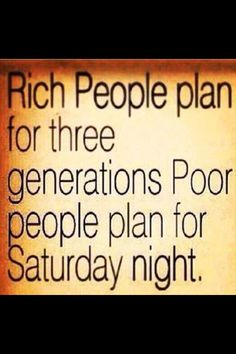 Do you look forward to every Saturday night ?
