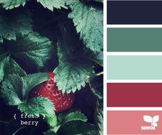 New kitchen colors schemes green design seeds ideas Palette Design, Color Schemes Design, Color Patterns, Design Seeds, Color Secundario, Color Combos, Green Design, Pink Design, Rose Design