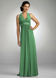 David's+Bridal+Bridesmaids+Dress | David's Bridal Bridesmaid Dresses Long Halter Empire Beaded Dress ...