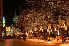 16th Street Mall Winter Lights, Denver