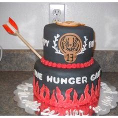 Hunger Games Cake designed by Amy's Cakes - Sherburn, MN