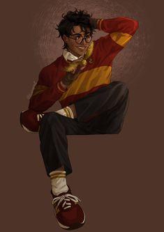 Arte Do Harry Potter, Harry Potter Artwork, Yer A Wizard Harry, Harry Potter Drawings, Harry Potter Pictures, Harry Potter Wallpaper, James Potter, Harry Potter Fan Art, Harry Potter Universal