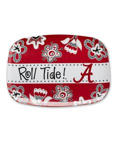 Look at this Alabama Crimson Tide Serving Platter on #zulily today!