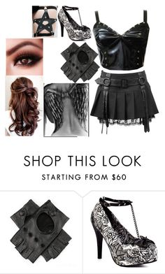 """""""Untitled #548"""" by marythedemon ❤ liked on Polyvore featuring Black and Iron Fist"""