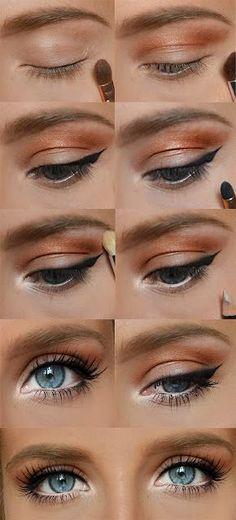 Bright Eyeshadow - Eye Makeup Tutorial - School Appropriate