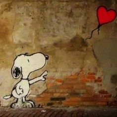 One day I'll fly away Ill Fly Away, Charlie Brown And Snoopy, Peanuts Snoopy, Beagle, Comic Strips, Street Art, Concept, Grief, Creative
