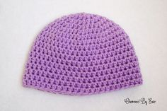 Free Crochet Pattern: Basic HDC Beanie