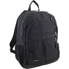 Eastsport Future Tech Backpack with Fully Padded Electronic Storage Pocket, Black