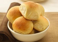 Gold Medal® Classic Dinner Rolls;  Depend on a tested and trusted recipe when you need a classic bread for dinner.
