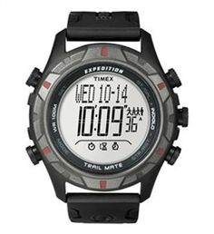 The Timex Expedition Trail Mate Watch is an attractive, comfortable and rugged watch that can be worn daily on the trails or in the office.