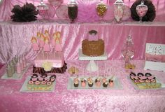 little girl party ideas | Bubble and Sweet: Pink Glamour Girl Birthday Party - Real Party