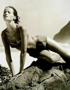Veruschka, photo by Horst, Hawaii 1965. That photo looks about 30 years ahead of it's time!