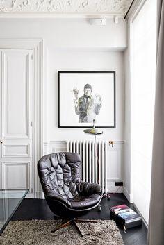Inside a Contemporary 19th-Century Paris Apartment via @MyDomaine