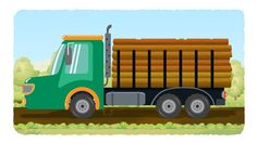 Watch formation and uses of a Log Truck. Play and have fun. #logtruck #truck #vehicles #kidsvideos #babyvideos #entertainment #kids #parents #babies #toddlers