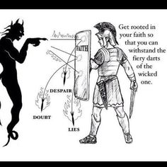 Shield of Faith – Linda's Bible Study Christian Warrior, Christian Life, Christian Quotes, Bible Scriptures, Bible Quotes, Bible Doctrine, Bibel Journal, Shield Of Faith, Armor Of God