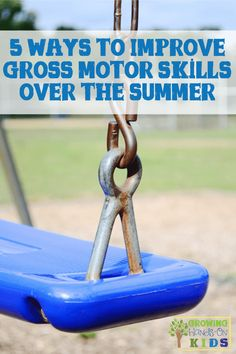 5 Ways to Improve Gross Motor Skills Over the Summer Improve those gross motor skills over the summer with these 5 fun ideas! Proprioceptive Activities, Motor Skills Activities, Gross Motor Skills, Sensory Activities, Learning Activities, Preschool Learning, Sensory Play, Teaching, Pediatric Physical Therapy