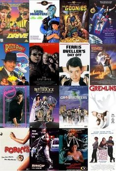 80s Movies. all my favs <3.