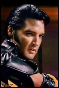 Elvis Presley in his 1968 Comeback Special.                                                                                                                                                      More