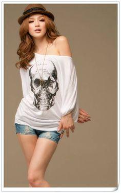 d57fffdad4ca 18 Best Skull Women s Clothes images