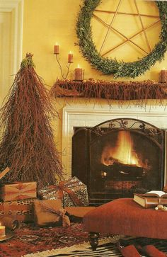 Pagan Christmas  What Imagine what my house would look like this coming yule or similar.