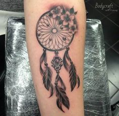 Dreamcatcher Tattoo on Forearm