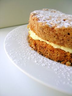 A delicious 2-layer carrot cake that is one of the best cakes I've ever eaten!
