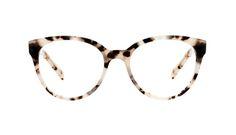 Lunettes tendance Oeil de chat Ronde Optiques Femmes Eclipse Granite Face