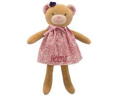 Petite Rose Muñeca Osita Personalizada
