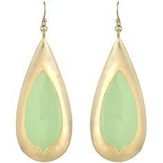 Kendra Scott Wren Earrings in Chalcedony #green @LaylaGrayce