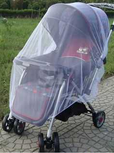 protect your kids from unwanted pests. stroller mosquito net cover