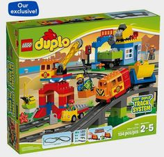 "LEGO DUPLO Deluxe Train Set (10508) - Toys""R""Us http://fave.co/2ciGonl"